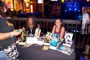 Author Tess Oliver at Rockin' the Holidays Bash